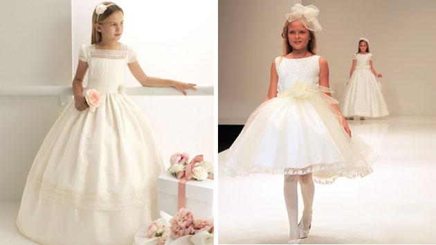 vestidos de primera comunion ninas 2014