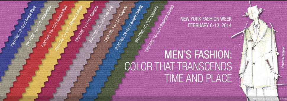 Colores de Tendencia de la temporada Otoño 2014 – Hombre