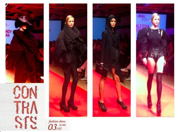 Contrasts Fashion Show 2013 IED Barcelona