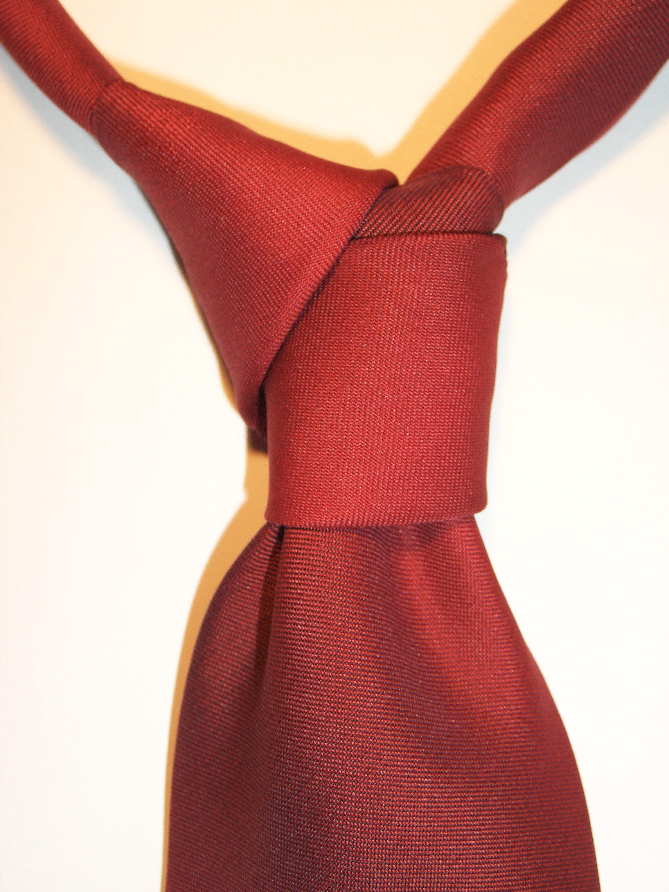 Necktie_Diagonal_knot TheGoldenStyle