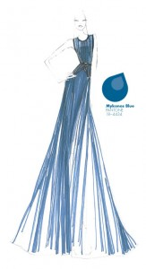 Tendencias de color Otono Invierno 2013  2014 Mykonos Blue   TheGoldenStyle The Golden Style